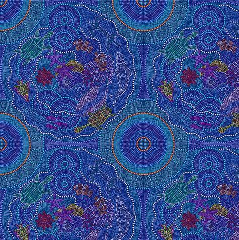 aboriginal art  colour vitality texture