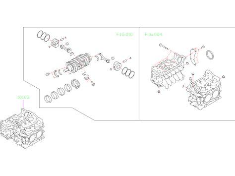 Subaru Outback Short Block Engine Assembly Ada