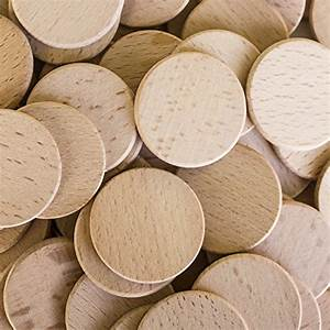 """Round Unfinished 1.5"""" Wood Cutout Circles Chips for Arts ..."""