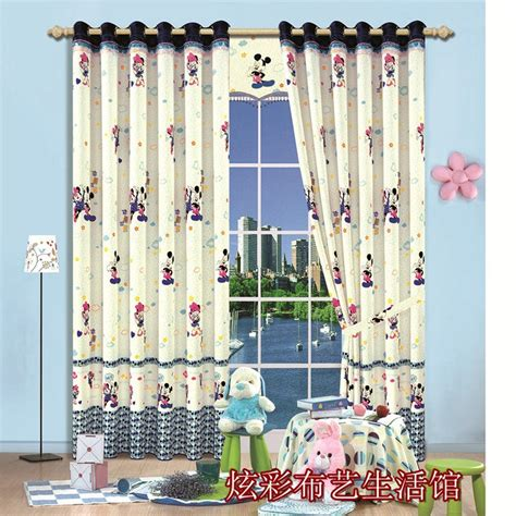 Mickey Mouse Bedroom Curtains by Get Cheap Mickey Mouse Curtains Aliexpress