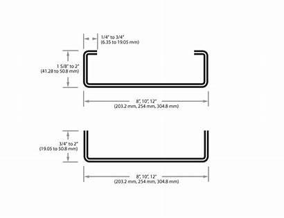 Stud Steel Track Framing Ps1200 Profile Metal