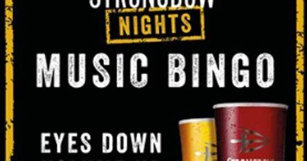 Instagram story creator for a music festival challenge. SUNDAY MUSIC BINGO   Corner Club, Canvey Island