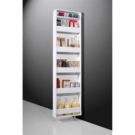 porte meuble de cuisine générique meuble à chaussures pivotant spek blanc meuble