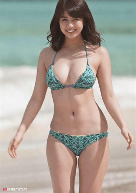 ㅎㅂ 일본 그라비아 아이돌 야나기 유리나 골반 몸매 유머