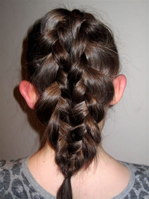 Mermaid Tail Braid Hairstyles ♥ Pinterest