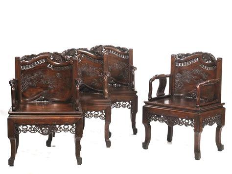 Quattro Poltrone E Un Divano, Cina, Dinastia Qing, Prima