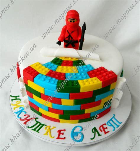 tort lego nindzyago vkusnyy  krasivyy eksklyuzivnyy tort