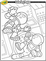 Astronauts Crayola Coloring Space Pages Printable Astronaut Pdf Own Drawing Colouring Preschool Sheets Crafts Cartoon Science Words Getcolorings Getdrawings Identity sketch template