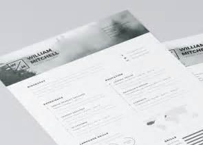 free minimalist resume designs 20 free editable cv resume templates for ps ai