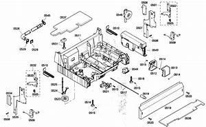 Bosch Model She68p05uc  53 Dishwasher Genuine Parts