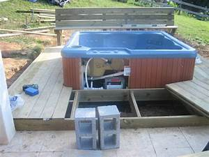 How To Install A Hot Tub On A Deck