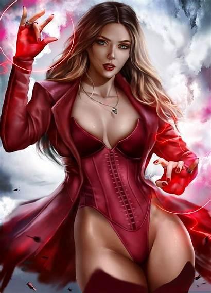 Scarlet Witch Herself Beauty Nsfw Superheroporn Reddit