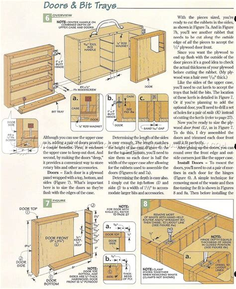dremel storage case plans woodarchivist