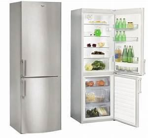Réfrigérateur Combiné Air Ventilé : frigo congelateur whirlpool inox ~ Premium-room.com Idées de Décoration