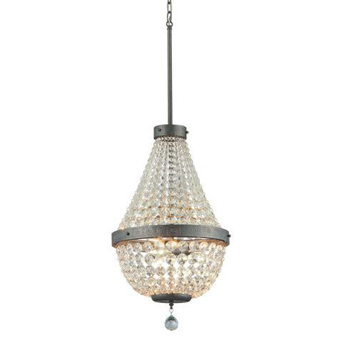 chandeliers pendant lights shop portfolio breely 14 02 in 3 light antique silver