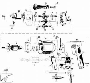 Black And Decker 7254 Parts List And Diagram