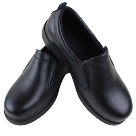 mens chefs shoes kitchen anti slip leather shoes safety