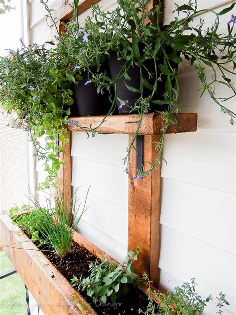 Diy Vertical Herb Garden And Planter (2x4 Challenge