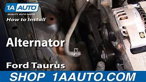 How To Replace Alternator 00-01 Ford Taurus