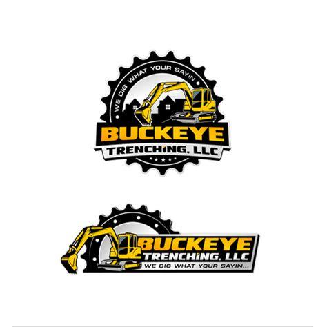 excavation company    sweet logo  primary tool     mini excavator logo