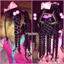 Black Girl Hairstyles with Barrettes for Kids