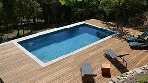 Bois Pour Terrasse Piscine : fabrication et pose d 39 un deck de piscine bonnieux 84480 ~ Zukunftsfamilie.com Idées de Décoration