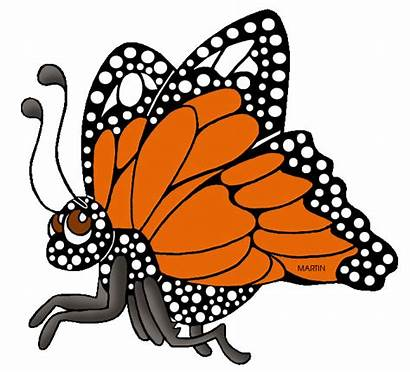 Clipart Butterflies Butterfly Monarch Animal Clip Animals