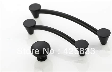 black kitchen cabinet handles 10pcs 96mm matte black pulls classical knobs drawer