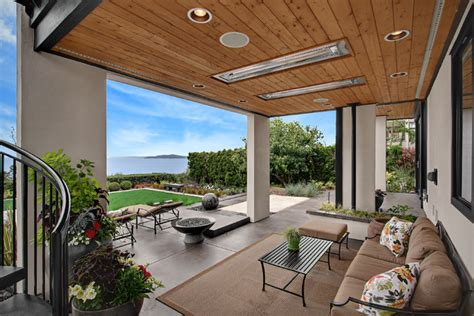 backyard patio space transitional patio seattle