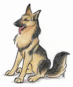 Happy German Shepherd By Wildspiritwolf On Deviantart