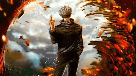 satoru gojo jujutsu kaisen art  wallpaper hd