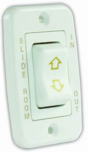 12345 Jr Products Slide Out Switch Momentary  Off