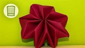 Youtube Servietten Falten : servietten falten der stern tisch deko zu weihnachten video faltanleitung chefkoch youtube ~ Frokenaadalensverden.com Haus und Dekorationen