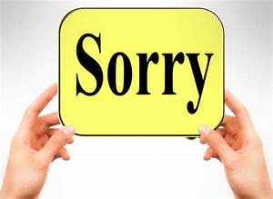 Difference Between Sorry And Apology Meaning Grammar Usage