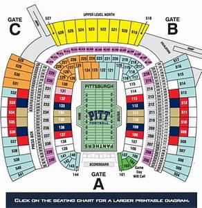 Heinz Field Concert Seating Capacity