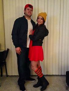 Spinelli & TJ Halloween couples costumes from recess on ...