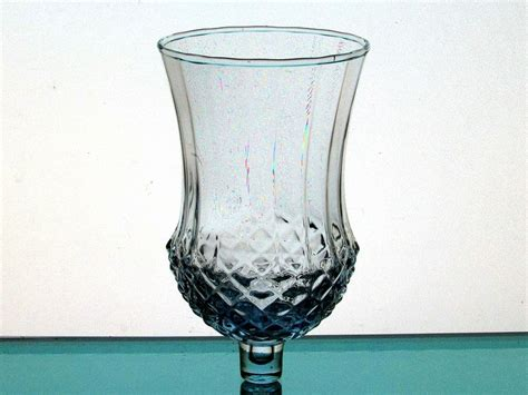 Home Interior Candle Holders by Home Interiors Peg Votive Candle Holder Pale Blue Large