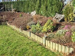 Allée De Jardin Pas Cher : bordure de jardin en bois pas cher conceptions de maison ~ Premium-room.com Idées de Décoration