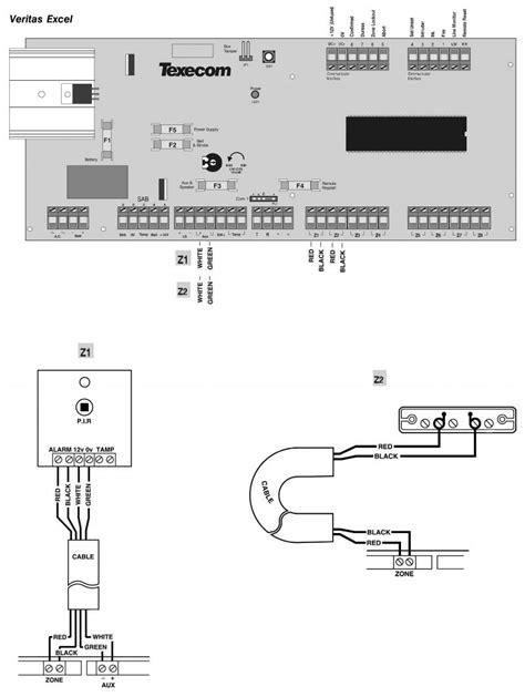 texecom veritas excel eol wiring with diynot forums