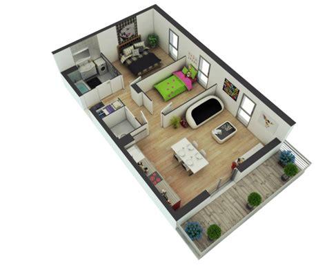 25 More 2 Bedroom 3d Floor Plans by 25 More 2 Bedroom 3d Floor Plans Arquitectura Planos