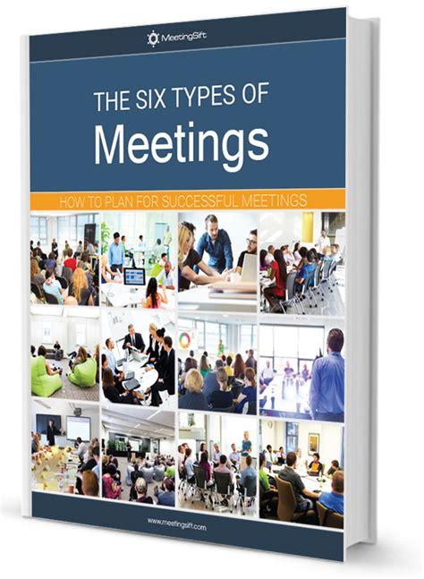 common types  meetings meetingsift