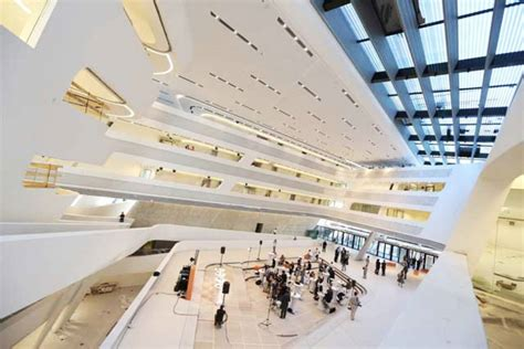 Learning And Library Center Der Wirtschaftsuniversitaet Wien by Library And Learning Center By Zaha Hadid Architects12