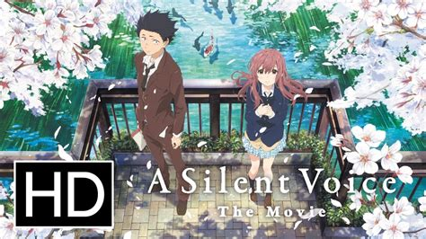 silent voice anime movie a silent voice official trailer youtube
