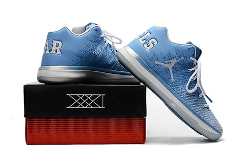 New Style Air Jordan Xxxi 31 Low Unc University Blue White