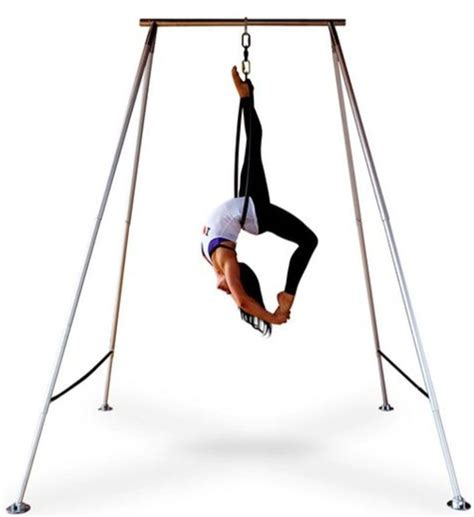 yoga hammock ideas  pinterest aerial yoga