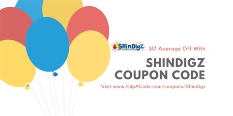 95919 Shindigz Promo Code by Shindigz Coupon Code 20 All Orders Sitewide