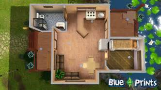 the soaked wood sims 3 blue prints