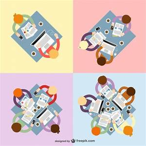 Teamwork collection Vector | Free Download
