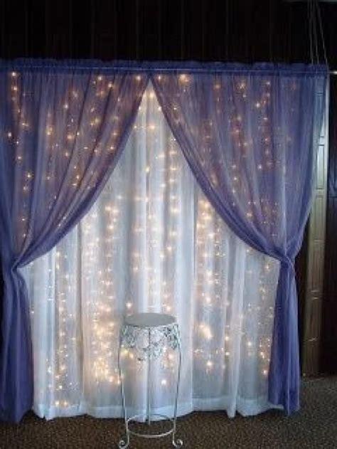 Diy Backdrop Ideas by Best 25 Curtain Backdrop Wedding Ideas On