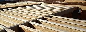 Maison Ossature Bois Toit Plat : toit terrasse ossature bois plan maison ossature bois toit plat toit terrasse ossature bois ~ Melissatoandfro.com Idées de Décoration